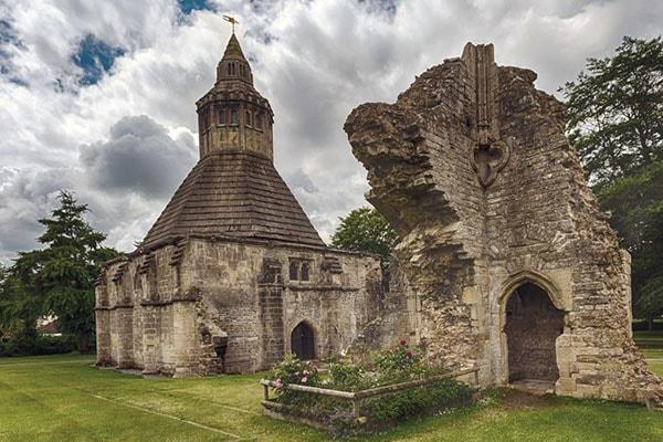 Abbot's Kitchen at Glastonbury Abbey