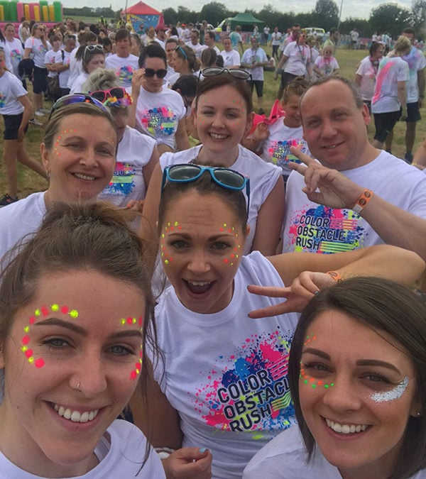 Colour rush in Bath completed with flying colours
