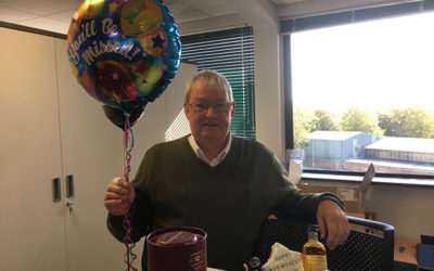Martin retires after 35 years' service!