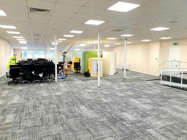 Wessex Electricals light up office building in Salisbury with LED upgrade