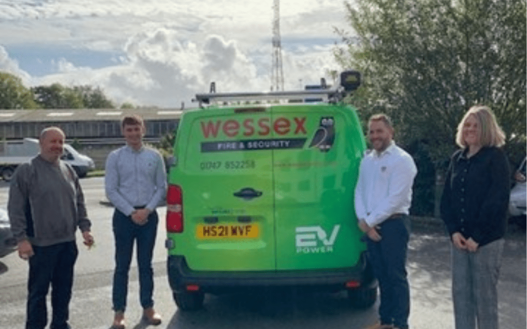 Our first Electric Van hits the road!